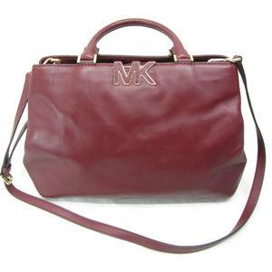 Michael Kors Burgundy Shoulder Bag Purse MK